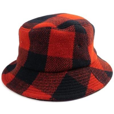 テンダーロイン TENDERLOIN T-BUFFALO HAT ハット 赤黒 Size【L】 【中古品-良い】【中古】