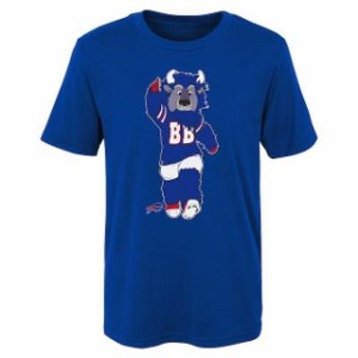 Outerstuff アウタースタッフ スポーツ用品  Buffalo Bills Preschool Royal Standing Mascot T-Shirt