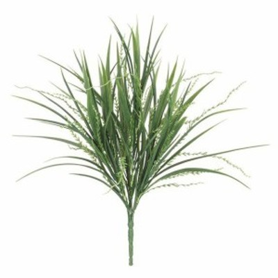 【人工観葉植物】屋外対応 シーウィードアソートブッシュ グリーン 37cm 【観葉植物 造花 フェイクグリーン 光触媒 CT触媒 インテリア】[