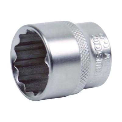 トラスコ中山(TRUSCO) TRUSCO ソケット(12角) 差込角9.5 対辺14mm TS3-14W 1個 416-1173(直送品)