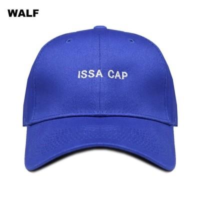 WALF(ウルフ)  ISSA CAP (BLUE) [ベースボール/キャップ/6パネル/UNISEX] [ブルー]
