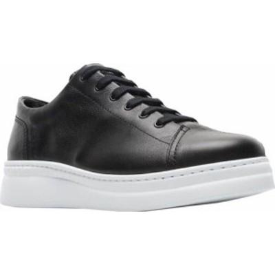 カンペール レディース スニーカー シューズ Women's Camper Runner Up Sneaker Black/White Full Grain Leather