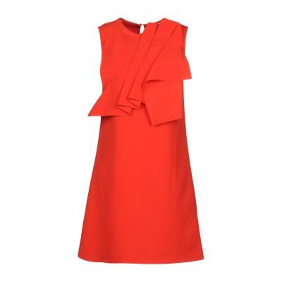 SUOLI ミニワンピース&ドレス レッド 44 ポリエステル 96% / ポリウレタン 4% ミニワンピース&ドレス