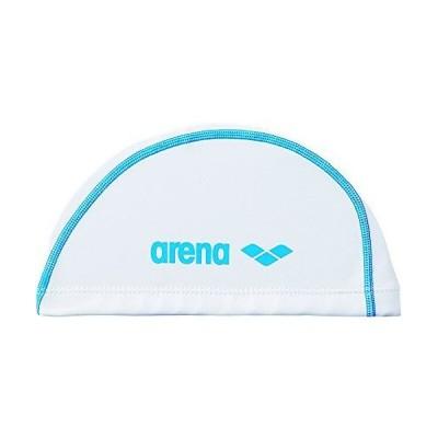 arena(アリーナ) スイムキャップ メンズ 2WAYシリコンキャップ フリーサイズ(50~59cm) ARN-6408 ホワイト×ブルー