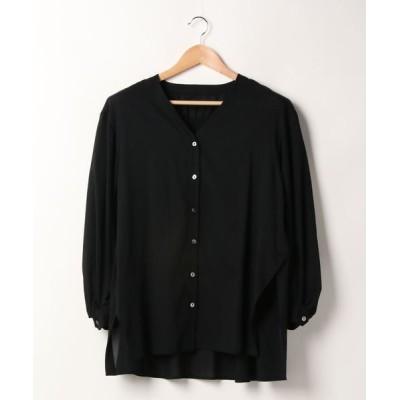 ELENDEEK / シアーボイルシャツ WOMEN トップス > シャツ/ブラウス