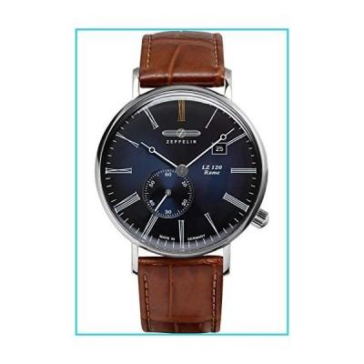 Zeppelin LZ120 ローマ メンズ 腕時計 ブルーダイヤル 7134-3【並行輸入品】