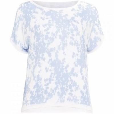 フェーズ エイト Phase Eight レディース ニット・セーター トップス Floral Elizabetta Double Layer Knit Light Blue