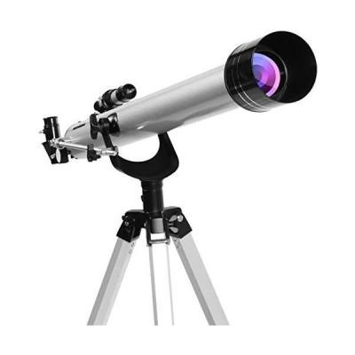 (新古品)アウトドアアクセサリー望遠鏡おもちゃ675X三脚付き大気差宇宙天文観測単眼