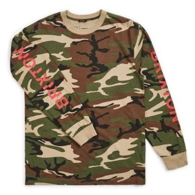 Brixton Slice II L/S T-Shirt Camo S 送料無料