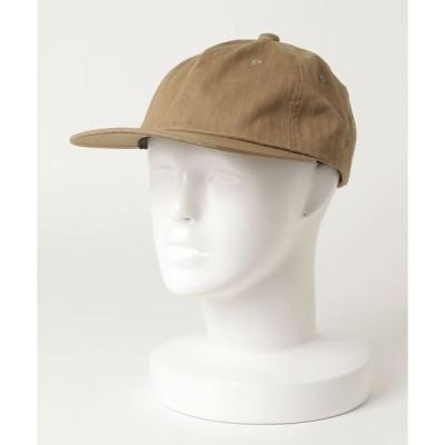 帽子 ハット BEAMS PLUS / ヘリンボーン 6パネル キャップ