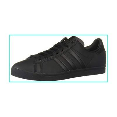 【新品】adidas Originals Unisex-Kid's Coast Star Sneaker, Black, Black, Grey, 13.5 Medium US(並行輸入品)