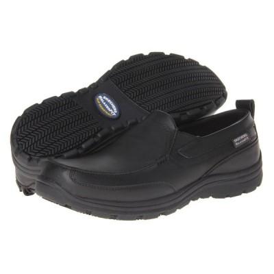 スケッチャーズ SKECHERS Work メンズ シューズ・靴 Hobbes Black
