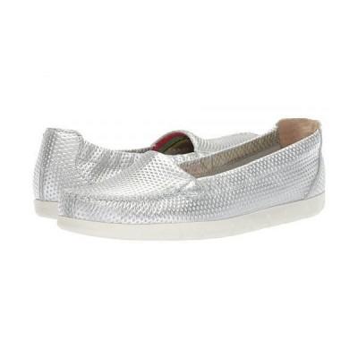SAS サス レディース 女性用 シューズ 靴 ローファー ボートシューズ Sunny - Silver