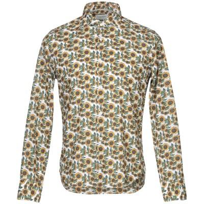 TINTORIA MATTEI 954 シャツ ホワイト 40 コットン 100% シャツ