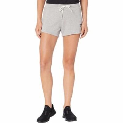 リーボック Reebok レディース ショートパンツ ボトムス・パンツ Training Essentials Shorts Medium Grey Heather