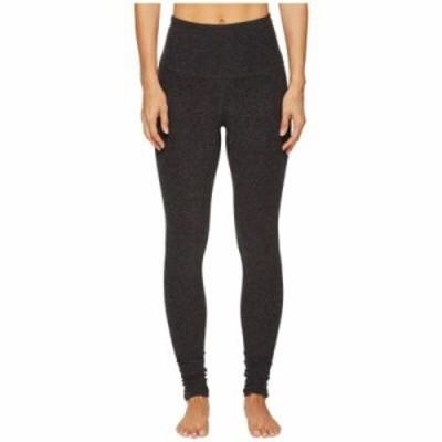 ビヨンドヨガ スパッツ・レギンス High Waist Long Legging Black/Charcoal Spacedye