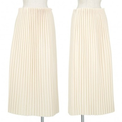 イッセイミヤケISSEY MIYAKE ソフトプリーツデザインスカート ベージュ2 【レディース】