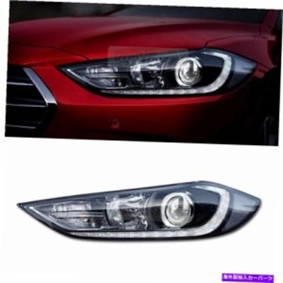USヘッドライト Hyundai 2017-18 Elantra広告のためのOEM純正部品DRLハロゲンヘッドライトランプLH OEM Genuine Parts DRL Halog