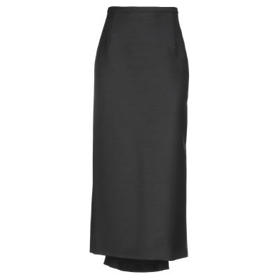 マイケル・コースコレクション MICHAEL KORS COLLECTION ロングスカート ブラック 2 バージンウール 100% ロングスカート