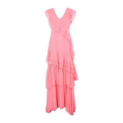 KI6? WHO ARE YOU? ロングワンピース&ドレス ピンク 40 ポリエステル 100% ロングワンピース&ドレス