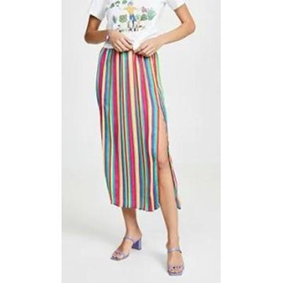 BB Dakota レディーススカート BB Dakota Outside the Lines Skirt Rainbow S