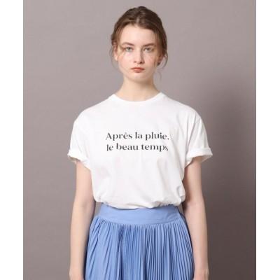 (DRESSTERIOR/ドレステリア)ロゴ&フォトプリントTシャツ/レディース オフホワイト(003)