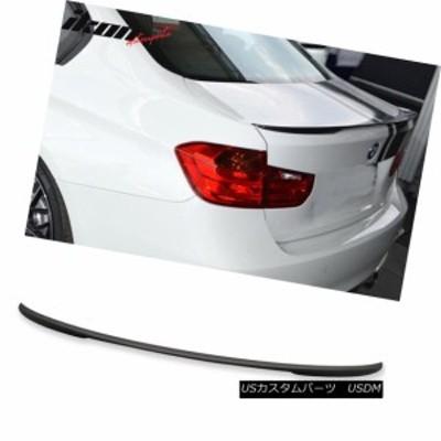 12-18 BMW F30 3シリーズパフォーマンススタイルトランクスポイラー塗装マットブラック -  ABS