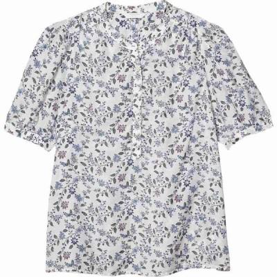 ラッキーブランド Lucky Brand レディース ブラウス・シャツ トップス Poet Popover Blouse White Multi