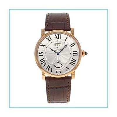 カルティエRotonde de Cartierシルバーダイヤル18?ktローズゴールドメンズ時計w1556252【並行輸入品】