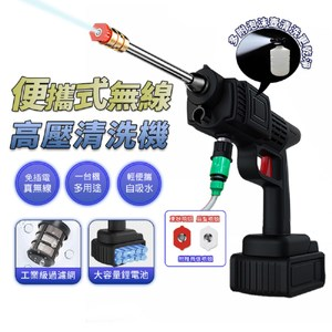 CG6便攜式無線高壓清洗機