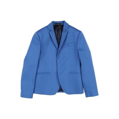 SKILL_OFFICINE テーラードジャケット ブルー 4 レーヨン 60% / ポリエステル 40% テーラードジャケット