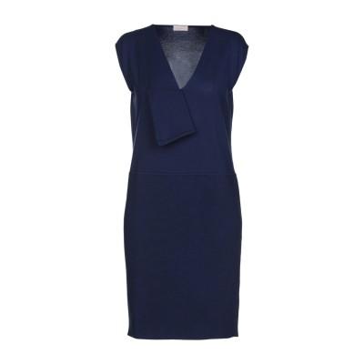 クルチアーニ CRUCIANI ミニワンピース&ドレス ダークブルー 42 コットン 80% / ポリウレタン 20% ミニワンピース&ドレス