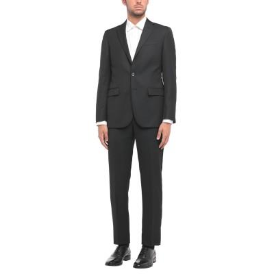 CC COLLECTION CORNELIANI スーツ ブラック 48 バージンウール 50% / レーヨン 50% スーツ