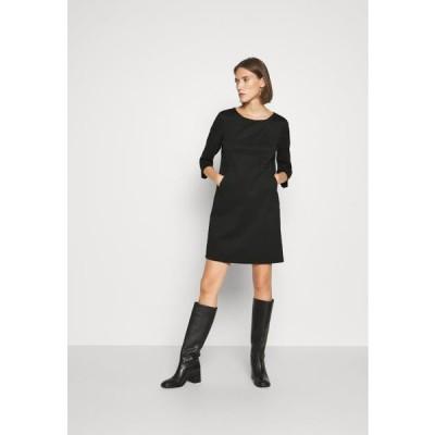 リュージョー レディース ジャージドレス ABITO SUYSTAMO - Jersey dress - nero