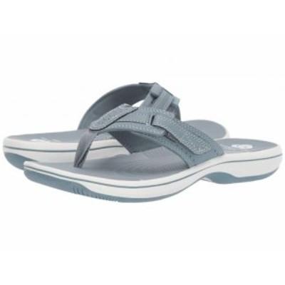 Clarks クラークス レディース 女性用 シューズ 靴 サンダル Brinkley Reef Blue Grey Synthetic【送料無料】
