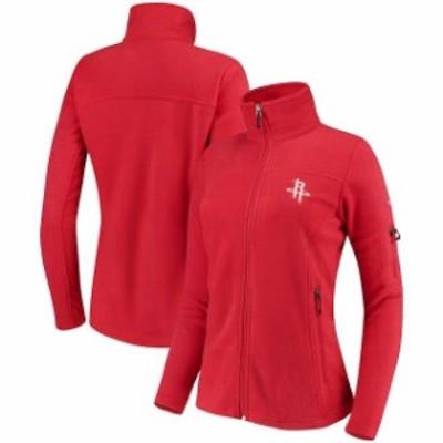 Columbia コロンビア スポーツ用品  Columbia Houston Rockets Womens Red Give & Go Full-Zip Jacket