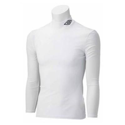アンブロ Jr.L/Sパワーインナーシャツ(WHT・120) umbro サッカー・フットサル インナーウェア DS-UAS9300J-WHT-120 【返品種別A】