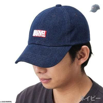 キャップ 帽子 ローキャップ キャップ帽 メンズ MARVEL マーベル ロゴ