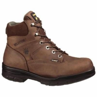 ウルヴァリン レインシューズ・長靴 Durashocks Slip Resistant 6 Dark Brown