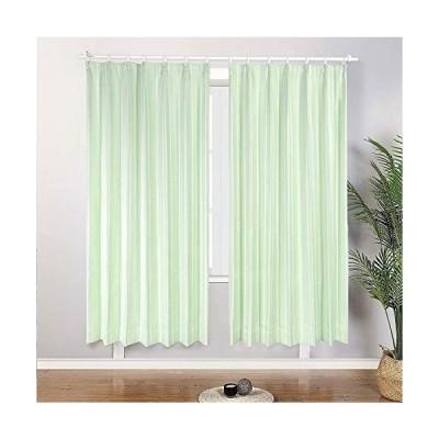 HAVARGO 緑のカーテン 防音カーテン 遮音カーテン 遮光カーテン178cm丈 85%遮光 遮熱断熱カーテン防寒 カーテン2