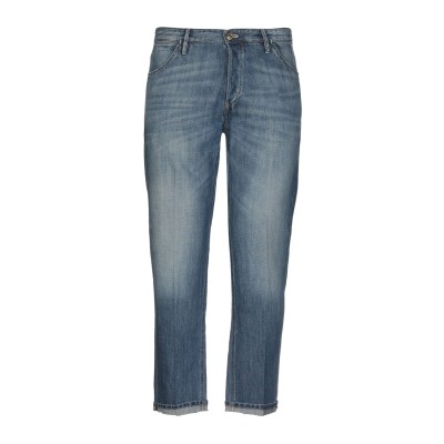 PT Torino ジーンズ ブルー 30 コットン 60% / 麻 40% ジーンズ