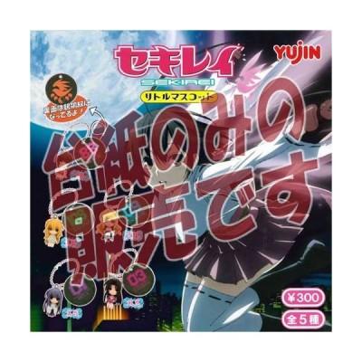 【非売品ディスプレイ台紙】セキレイ リトルマスコット ユージン(Yujin) ガチャポン