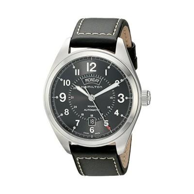 [ハミルトン] 腕時計 Khaki Field Day Date(カーキ フィールド デイデイト) H70505733 正規輸入品 ブラック