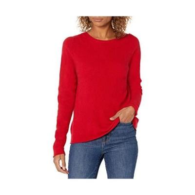 Majestic Filatures Women's Pullover Sweater, 423. Cherry, 3並行輸入品 送料無料
