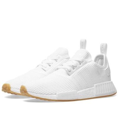 アディダス Adidas メンズ スニーカー シューズ・靴 NMD_R1 White/Gum