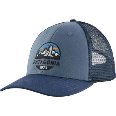 パタゴニア Patagonia メンズ キャップ トラッカーハット 帽子 Fitz Roy Scope LoPro Trucker Hat Pigeon Blue