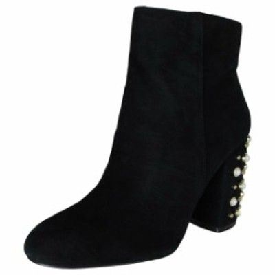 Madden メデン シューズ ブーツ Steve madden yvette women high heel ankle boots shoes black suede us 8 5