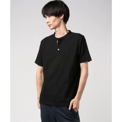 tシャツ Tシャツ :カノコヘンリーTシャツ SS