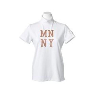 マンシングウェア【サンスクリーン】ベア天竺光沢プリントハイネックシャツ