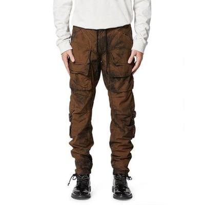ハドソン メンズ カジュアルパンツ ボトムス Hunter Tie-Dye Slim Fit Cargo Pants